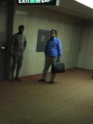 توقيف الملحق العسكري التركي لدى الكويت في مطار الدمام