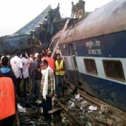 إصابة 61 في خروج قطار عن السكك الحديدية في الهند