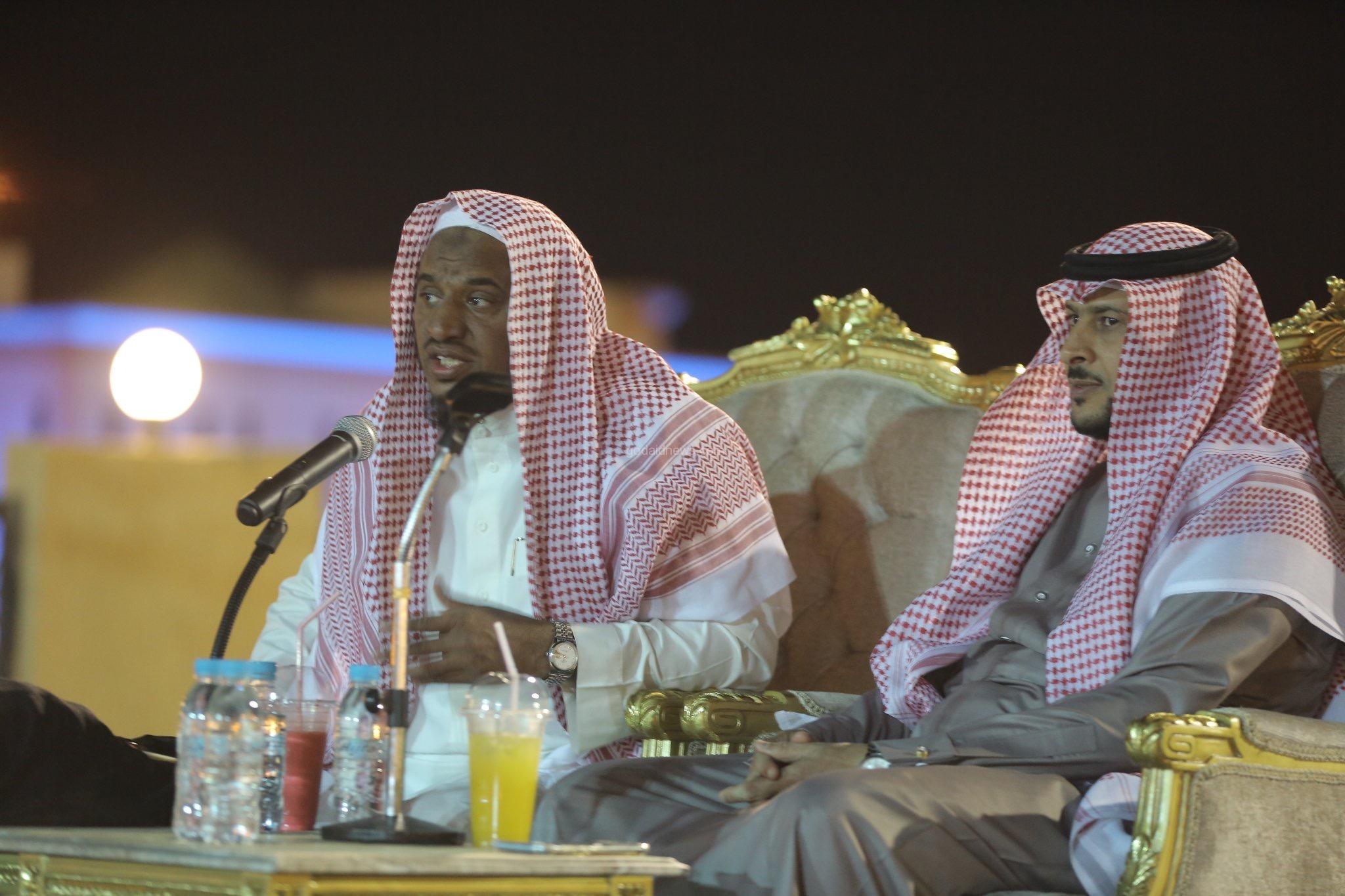 الشيخ الجبيلان ضيفًا على مهرجان عسفان الأول