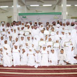 مشرف تحفيظ الشامية يكرم الطلاب الحاصلين على تقدير ممتاز