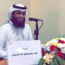 النقيب نايف القريقري يحصل على الماجستير في قسم الأنظمة من الجامعة الإسلامية