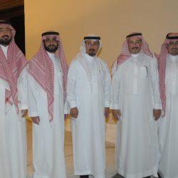 عبد المحسن الراجحي يحتفل بأحفاده