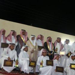 """""""البرزة تشكركم"""" يقيم حفل المعايدة بالبرزة ويكرم 140 شاركوا في مهرجان خليص الزراعي"""