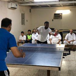 الشعيبي والمغربي في نهائي بطولة الترجي لتنس الطاولة