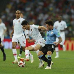 ثنائية كافاني تؤهل الأوروجواي الى ربع نهائي كأس العالم