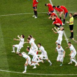 روسيا تفوز على إسبانيا بركلات الترجيح وتتأهل لربع نهائي المونديال