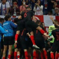 كرواتيا تفوزعلى إنجلترا في الوقت الإضافي وتتأهل لنهائي كأس العالم