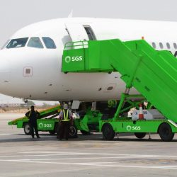 الشركة السعودية للخدمات الأرضية قدمت خدماتها لـ 4,883 رحلة