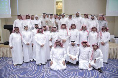 مدرسة شيبة بن عثمان بجدة تحتفي بقائدها السابق