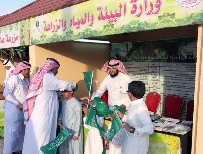 مهرجان العنب ببني سعد واحتفالات اليوم الوطني