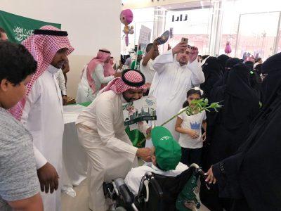 مكتب وزارة البيئة والمياه والزراعة بمحافظة جدة يحتفي باليوم الوطني ٨٨