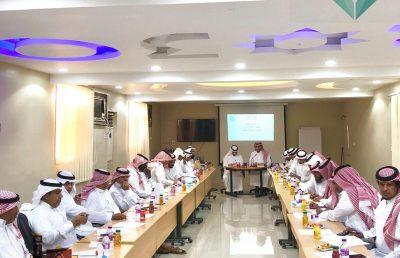 تعليم خليص يعقد الاجتماع الأول لقادة المدارس للعام الدراسي 1440/1439