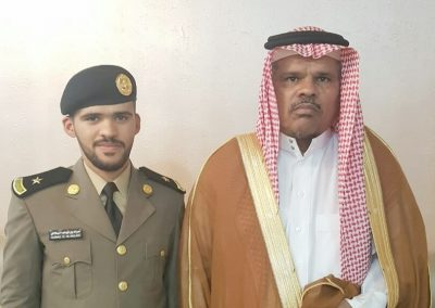 البلادي يحتفل بتخرجه من كلية الملك فهد الأمنية برتبة ملازم