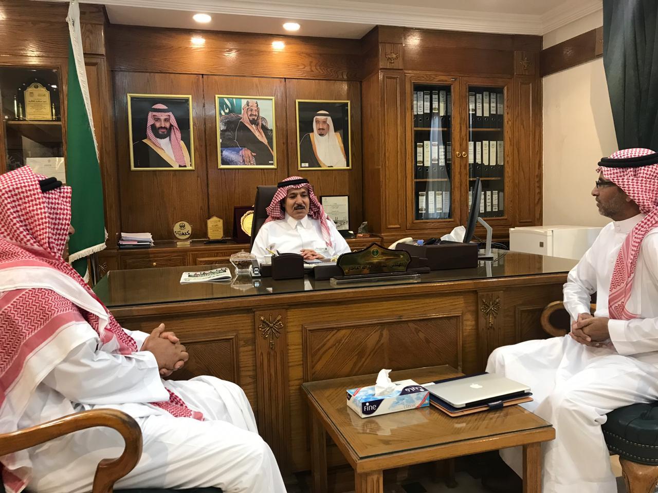 زيارة الجحدلي لفرع وزارة البيئة والمياه والزراعة بمنطقة مكة المكرمة