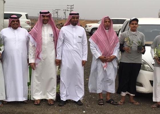 فعاليات اسبوع البيئة في محافظة خليص