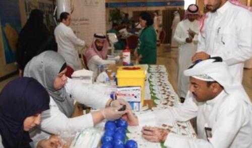 أمانة الشرقية بالتعاون مع مستشفى الملك فهد التخصصي تقيم حملة للفحص الشامل لزائري ومنسوبي الأمان
