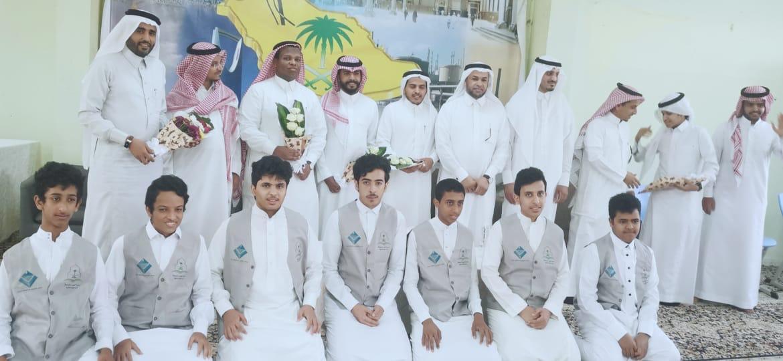 متوسطة خليص وثانوية ابن الهيثم تكرم شركاء النجاح