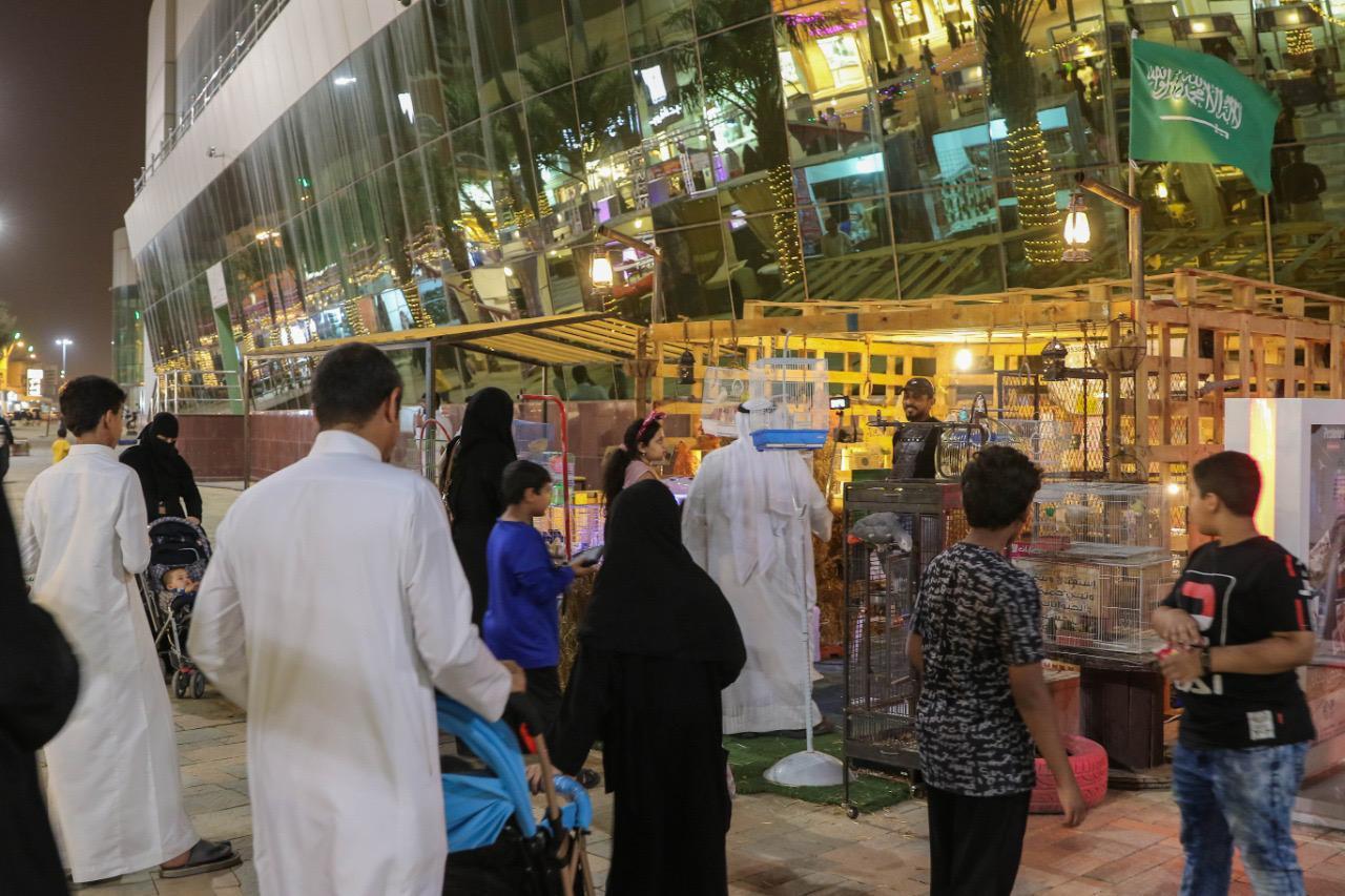 انطلاقة فعاليات مهرجان ليالي رمضان فى عنيزة