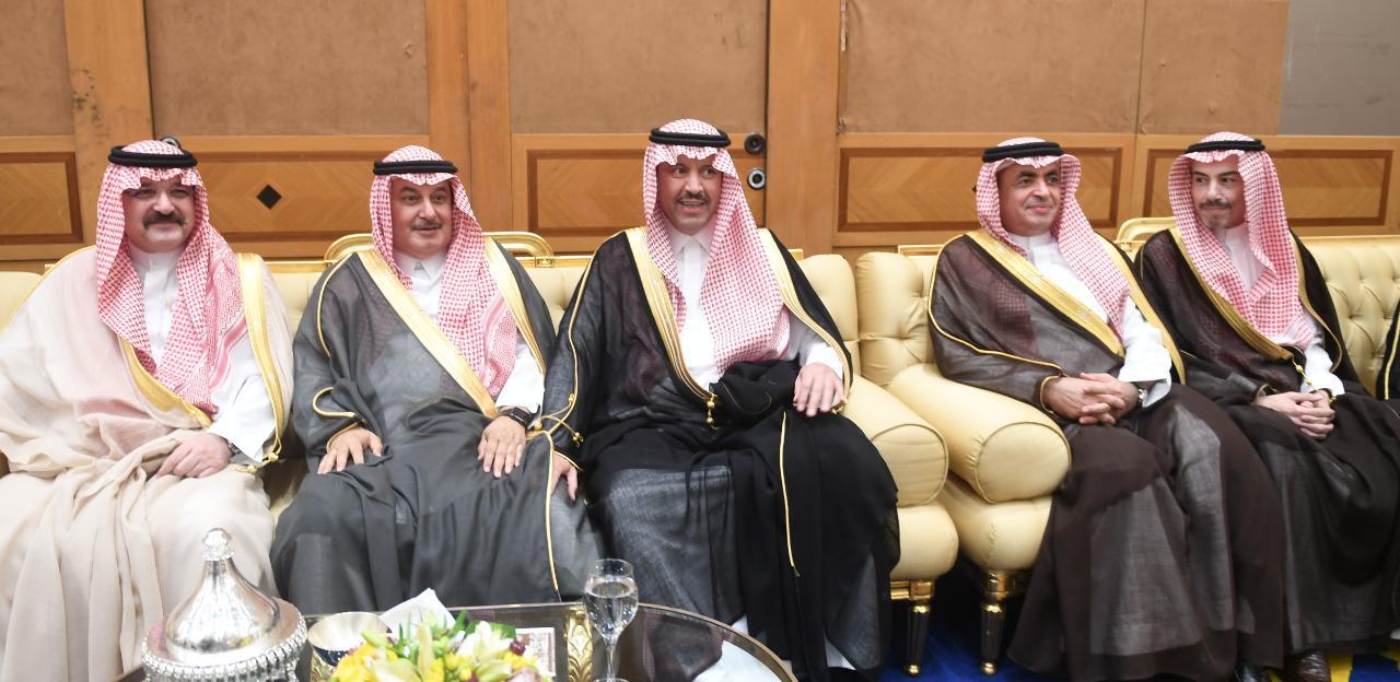 بحضور الأمير مشعل وفيصل والوزير القصب.. عماد العبود يحتفي بزفاف ابنه ماجد