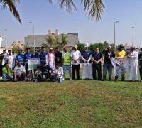 89 فريق تطوعي يشارك بلدية ذهبان في غرس 89 شجرة في يوم الوطن