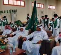مدرسة الزبير بن العوام بأم الجرم تحتفل باليوم الوطني الـ 89
