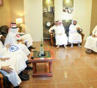 الأمين العام لوقف العين العزيزية في زيارة لمحافظة بحرة