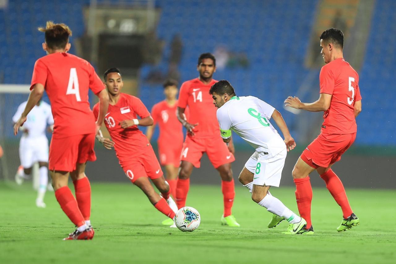 المنتخب السعودي لكرة القدم يتغلب على نظيره السنغافوري بثلاثية