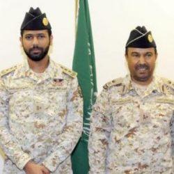 اللواء الحربي يقلد 176 ضابطاً بالحرس الوطني رتبهم الجديدة