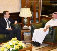 جامعة أم القرى تبحث تطوير العلاقات مع الجامعات البريطانية