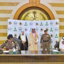 إمارة مكة المكرمة توقع إتفاقيات مع جامعة الملك عبد العزيز وشرطة المنطقة