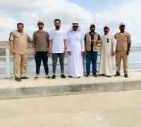 مختصُّون من الإمارات والكويت يتدرّبون على طرق استكشاف الجراد ومكافحته بالقنفذة