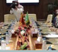رئيس مجلس الشورى يعقد جلسة مباحثات مشتركة مع رئيس مجلس النواب المغربي في الرباط