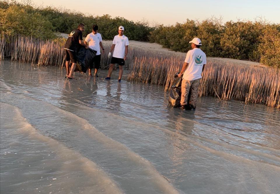 مكتب البيئة والمياه والزراعة برابغ يشارك بمبادرة «خور رابغ أجمل»