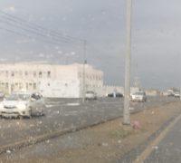 هطول أمطار خفيفة إلى متوسطة على قرى وادي قديد