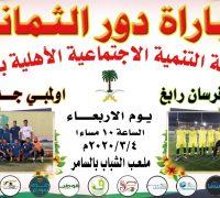 الفرق المتأهلة لدور الثمانية ببطولة لجنة التنمية بشمال جدة