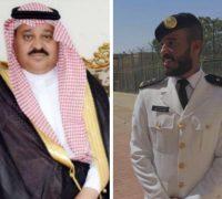 """تخرج """"باسل الرشيدي"""" من كلية الملك فهد البحرية برتبة ملازم أول"""