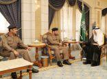 الأمير خالد الفيصل يستقبل مدير الدفاع المدني بديوان الإمارة بمكة المكرمة