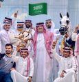 (بيبيتا)للأمير عبدالمجيد بن سلطان يحقق الميدالية الذهبية في بطولة دبي الدولية للجواد العربي