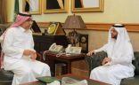 وكيل إمارة مكة يلتقي محافظ الهيئة العامة للمنشآت الصغيرة والمتوسطة