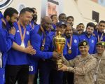 القوات الجوية تنتزع كأس اليد في دورة الألعاب الرياضية السابعة عشر للقوات المسلحة