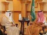 امير مكة بالنيابة يستقبل نائب وزير الحج والعمرة وأعضاء مبادرة (صديق المعتمر )
