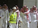 الأمير بدر بن سلطان يتفقد المشروعات الجاري تنفيذها في المسجد الحرام
