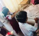 أطفال روضة البيادر في زيارة لكبار السن المنومين بمستشفى خليص