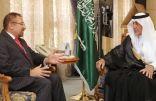 الأمير خالد الفيصل يستقبل السفير الأفغاني المندوب الدائم لدى منظمة التعاون الإسلامي في ديوان الإمارة بمكة