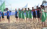 في إفتتاح البطولة الاسيوية أخضر الشاطئية يتعثر امام عمان