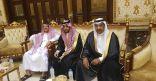 """محمد بن فالح يحتفل بزواج ابنه سمير في """"ليلة فرح"""""""