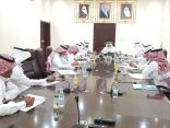 محافظ خليص يجتمع بأعضاء المجلس الاستشاري