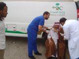 حملة تطعيم ميدانييطلقها مركز الخرائقبالطائف