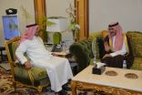 وزير الحج والعمرة يستقبل القنصل العام الكويتي بجدة