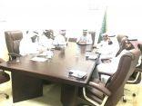 لجنة التنمية بالظبية والجمعة تعقد اجتماعها الدوري
